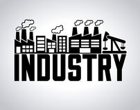 Industry concept Royalty Free Stock Photo