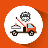 Industry construction icon Stock Image