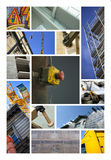 Industry and construction sites Royalty Free Stock Image