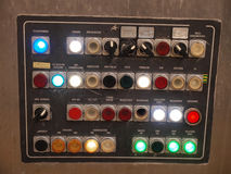 Industry control panel Stock Photos