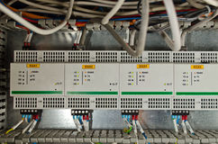 Industry Control Panel Stock Image
