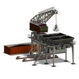 Industry crane Stock Photography