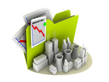 Industry crisis icon Stock Photography