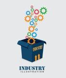 Industry design Stock Image
