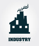 Industry design. Over gray background, vector illustration vector illustration