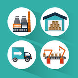 Industry design vector Stock Photography