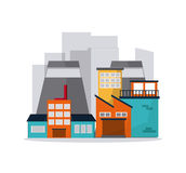 Industry design vector Stock Image
