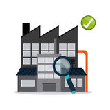 Industry design vector Stock Images