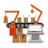 Industry design vector Royalty Free Stock Image