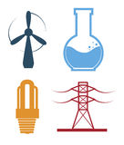 Industry energy design Stock Photography