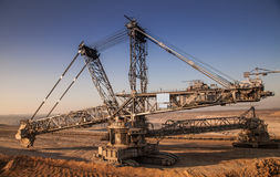 Industry excavator Stock Image