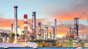 Industry, Factory, Oil Refinery Stock Images