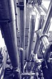 Industry gas and oil pipes Royalty Free Stock Image