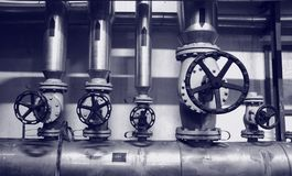 Industry gas and oil systems Stock Photography