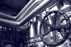 Industry gas and oil systems Royalty Free Stock Images