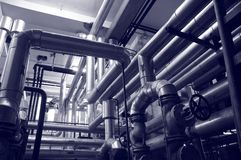 Industry gas and oil systems Stock Image