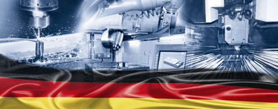 Industry in Germany Royalty Free Stock Photography