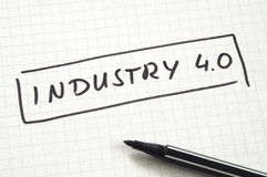 Industry 4.0 Stock Image