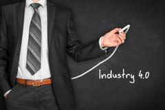 Industry 4.0 stock photo