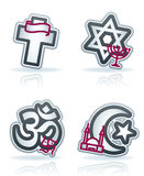 Industry Icons: Religion Royalty Free Stock Images