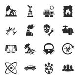 Industry 16 icons universal set for web and mobile. Flat Stock Photography