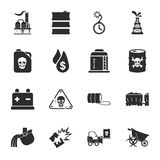 Industry 16 icons universal set for web and mobile. Flat Stock Photo