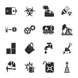 Industry 16 icons universal set for web and mobile. Flat Stock Illustration