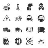 Industry 16 icons universal set for web and mobile. Flat Stock Images
