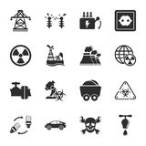 Industry 16 icons universal set for web and mobile. Flat Stock Photos