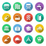 Industry Icons 1 Royalty Free Stock Photos