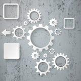 Industry Infographic Concrete Stock Photos
