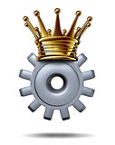 Industry King Stock Image