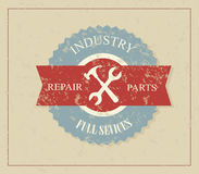 Industry label Stock Images