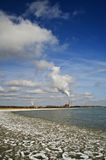 Industry on Lake Michigan Royalty Free Stock Images