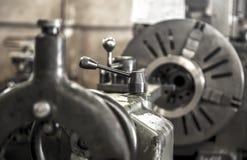 Industry lathe machine work tool steel. Industry lathe machine work tool royalty free stock images