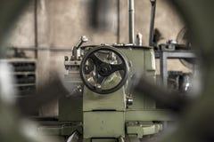Industry lathe machine work tool steel. Industry lathe machine work tool stock image