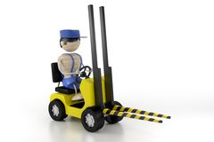 Industry lift loader Stock Image