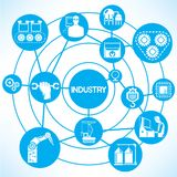 Industry management Stock Images