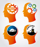 Industry mind Stock Photography