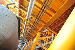 Industry Natural Gas Pipeline Royalty Free Stock Photography