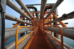 Industry Natural Gas Pipeline Stock Image
