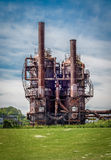 Industry And Nature Royalty Free Stock Photo