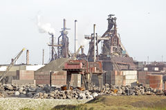 Industry near IJmuiden in Netherlands Stock Photography