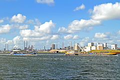 Industry near IJmuiden Netherlands Stock Photo