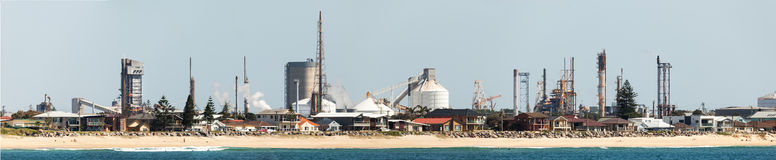 Industry in newcastle australia Royalty Free Stock Image