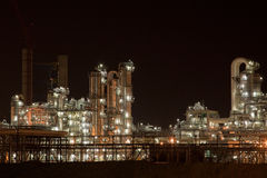 Industry at night Stock Photos