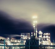 Industry by night Royalty Free Stock Images