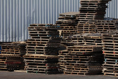 Industry Pallet Timber I Royalty Free Stock Photo