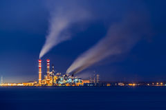 Industry Pollution Royalty Free Stock Photography