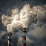 Industry pollution Royalty Free Stock Photos
